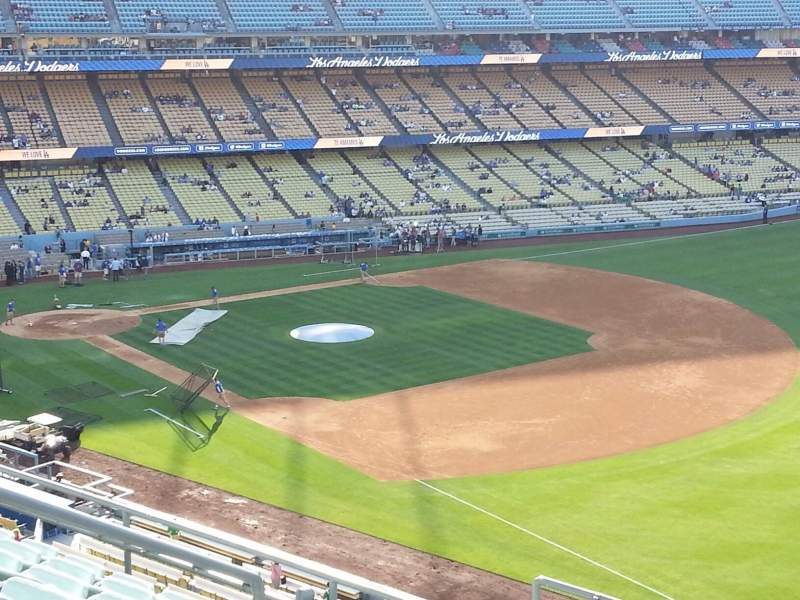 Seating view for Dodger Stadium Section 40RS Row F Seat 7