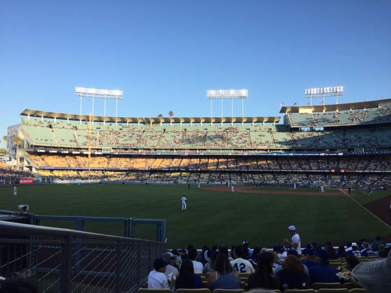 Seating view for Dodger Stadium Section 53FD Row R Seat 7
