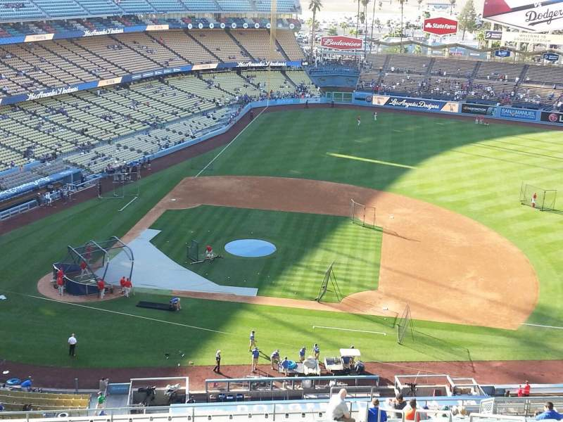 Seating view for Dodger Stadium Section 14RS Row AA Seat 19