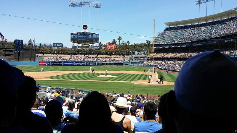 Seating view for Dodger Stadium Section 9fd Row U Seat 8
