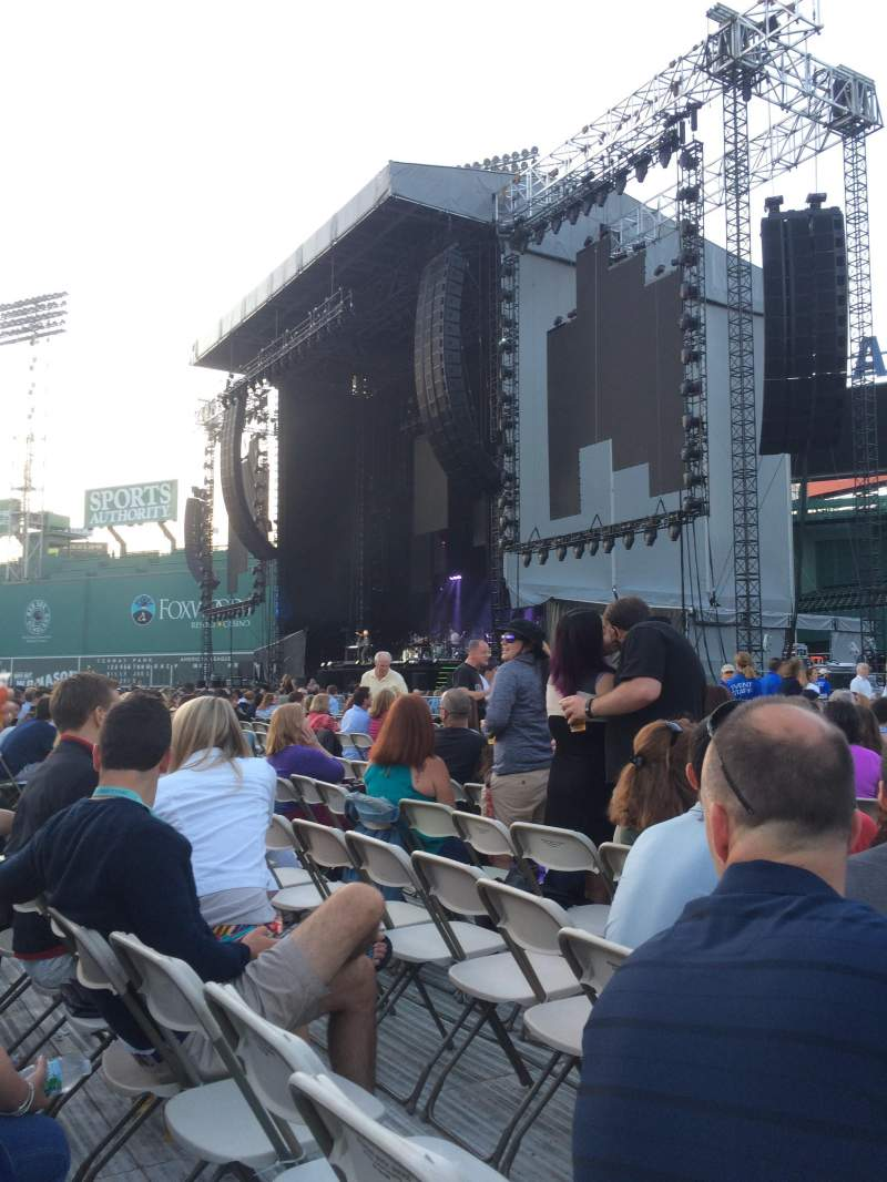 Seating view for Fenway Park Section A1 - turf concert seating Row 20 Seat 11