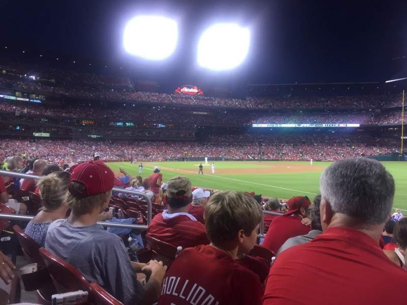Busch Stadium, section: 134, row: 12, seat: 5