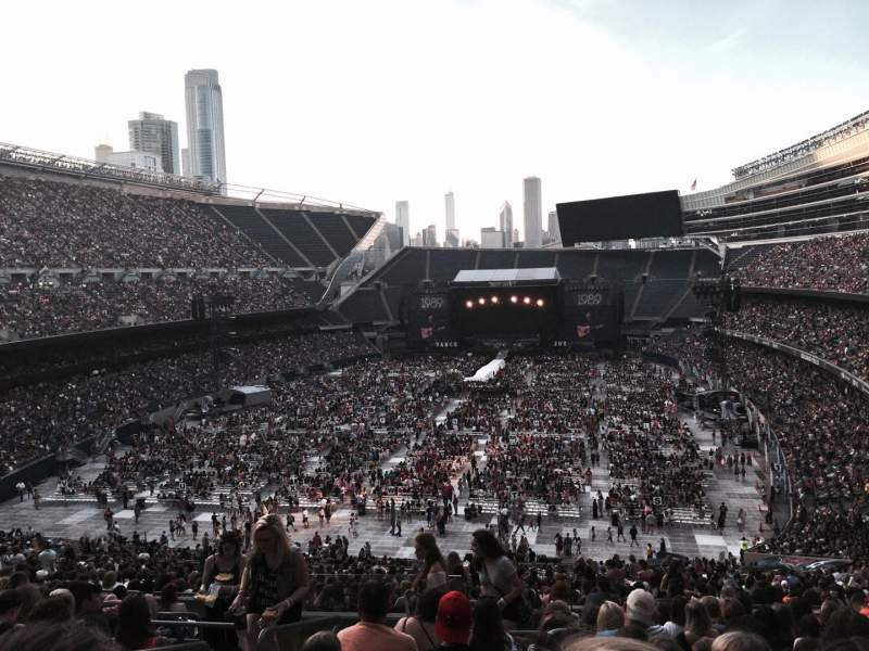 Seating view for Soldier Field Section 320 Row 14 Seat 3