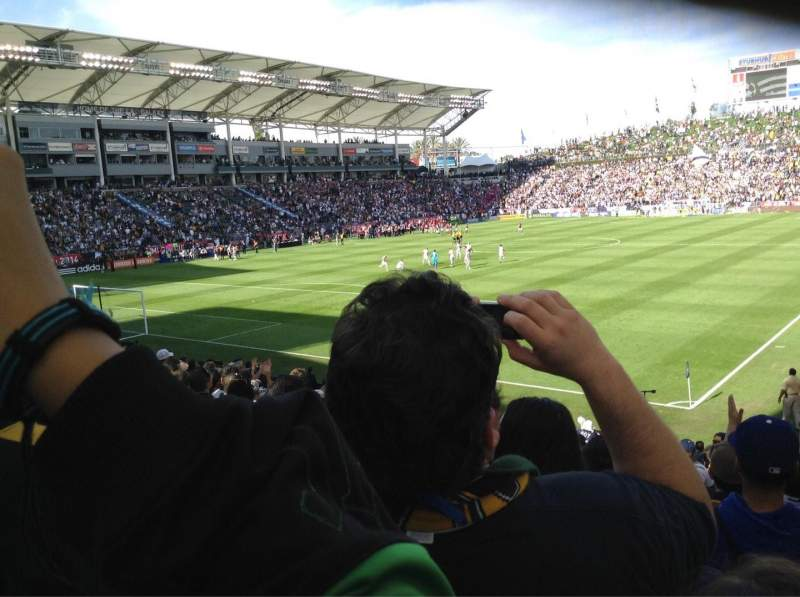 Seating view for StubHub Center Section 139 Row S Seat 16