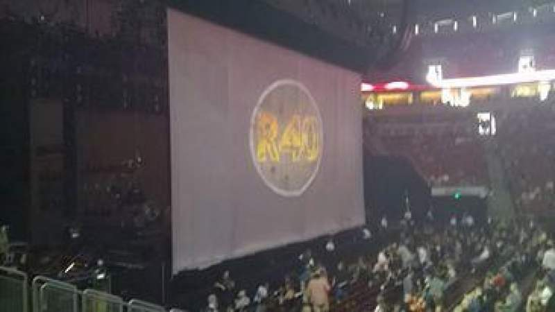 Seating view for KeyArena Section 127 Row 12 Seat 16