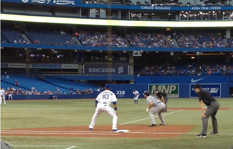 Seating view for Rogers Centre Section 116 Row 1 Seat 7