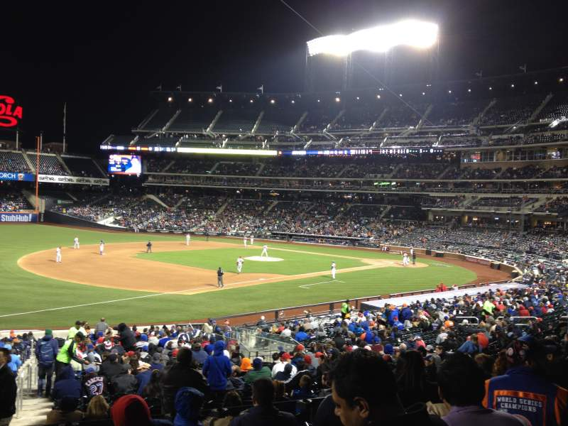 Seating view for Citi Field Section 125 Row 29 Seat 18