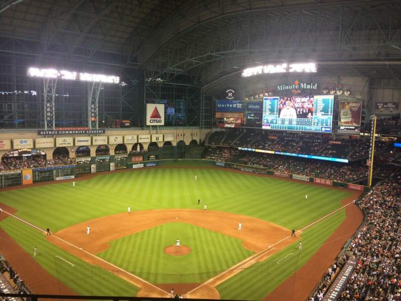 Seating view for Minute Maid Park Section 419 Row 2 Seat 6