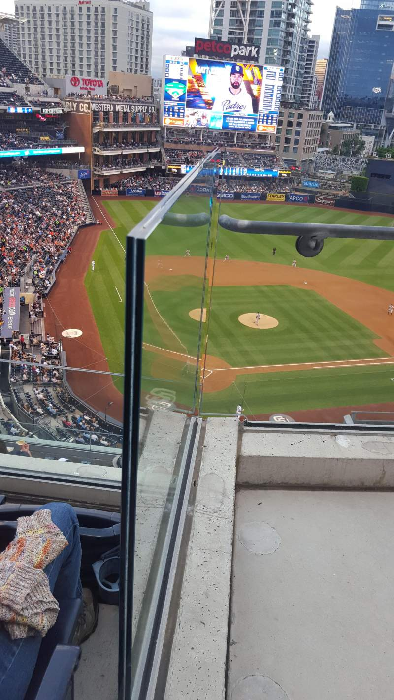 Seating view for PETCO Park Section UI303 Row 9 Seat 14