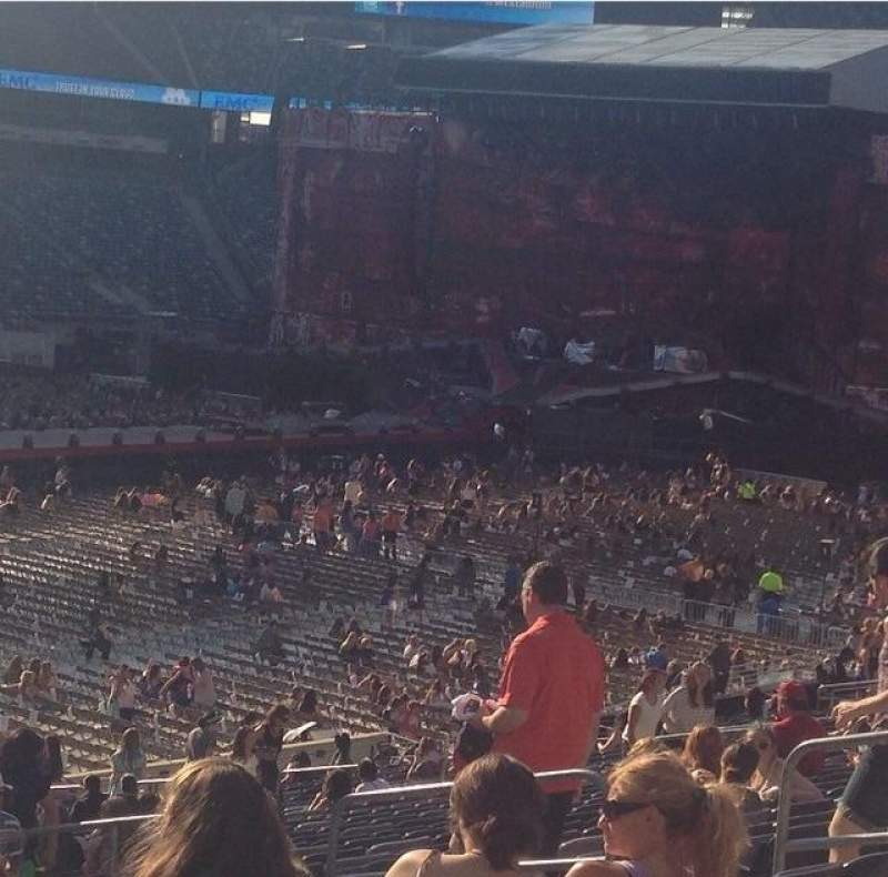 Seating view for MetLife Stadium Section 117 Row 35 Seat 13