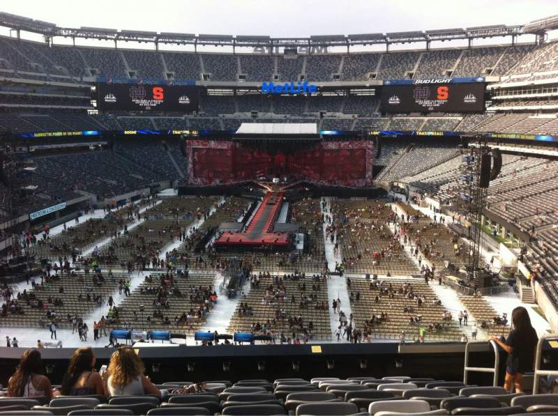 Seating view for MetLife Stadium Section 225A