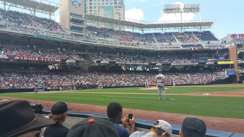 Seating view for Petco Park Section VIP Box 1 Row 7 Seat 7