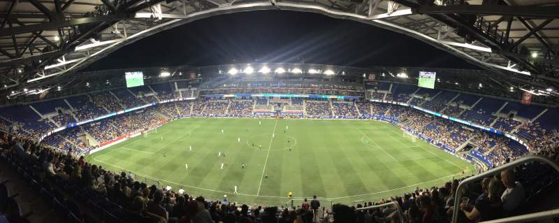 Seating view for Red Bull Arena Section 225 Row 24 Seat 2
