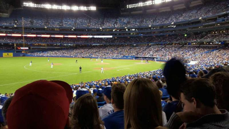 Seating view for Rogers Centre Section 130al Row 30 Seat 109