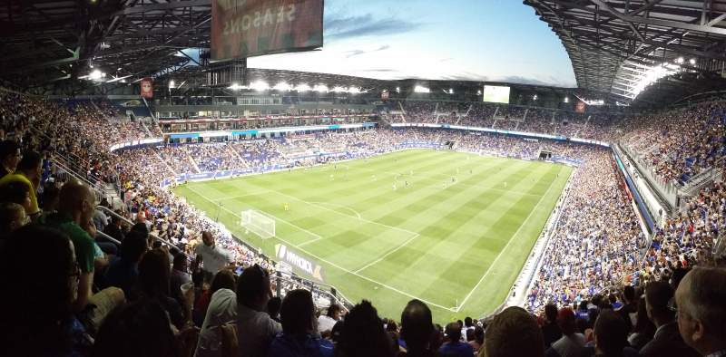 Seating view for Red Bull Arena Section 231 Row 18 Seat 36