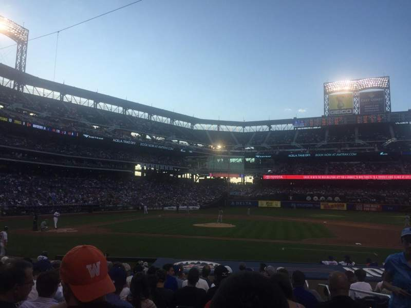 Seating view for Citi Field Section 114 Row 12 Seat 13