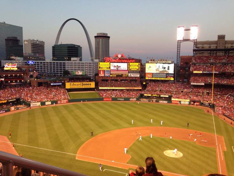 Seating view for Busch Stadium Section 354 Row 5 Seat 12