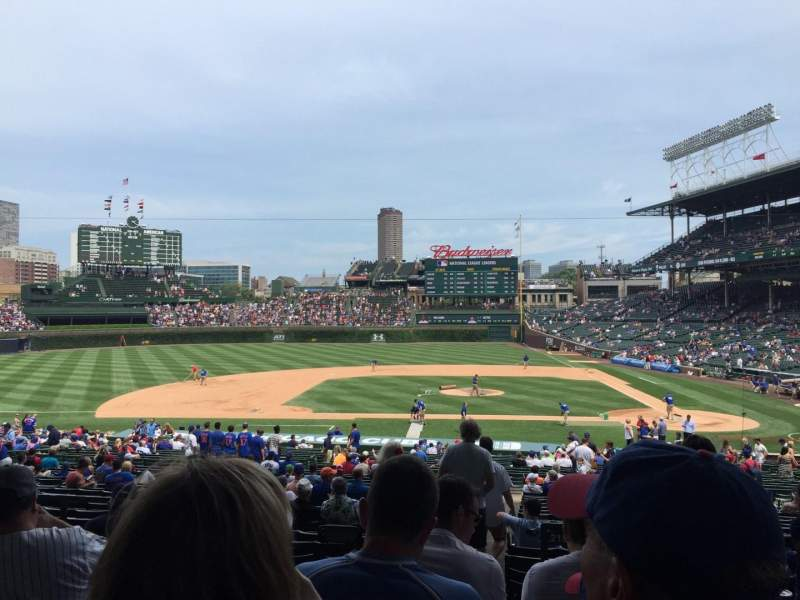 Seating view for Wrigley Field Section 215 Row 6 Seat 2