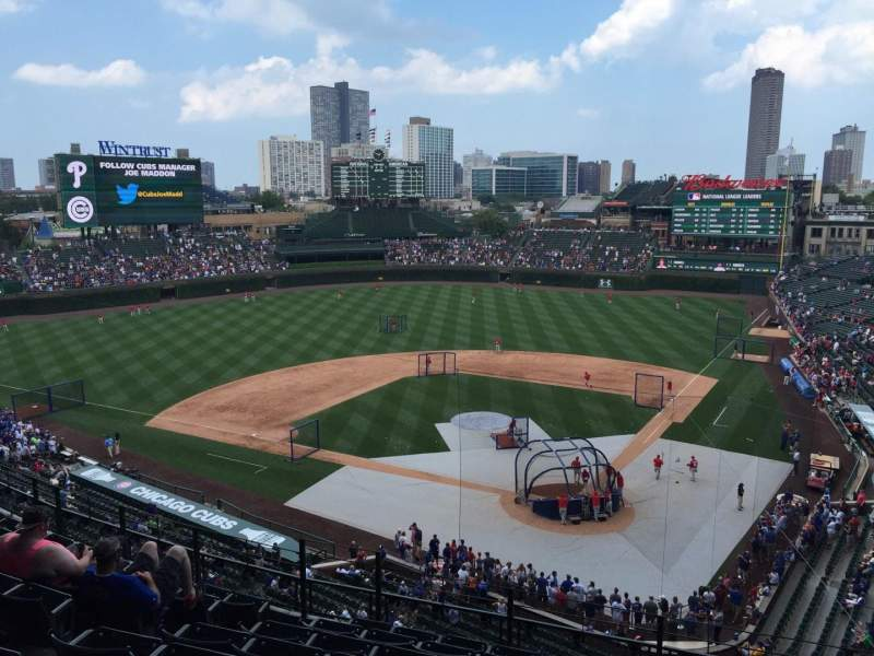 Seating view for Wrigley Field Section 315L Row 9 Seat 3