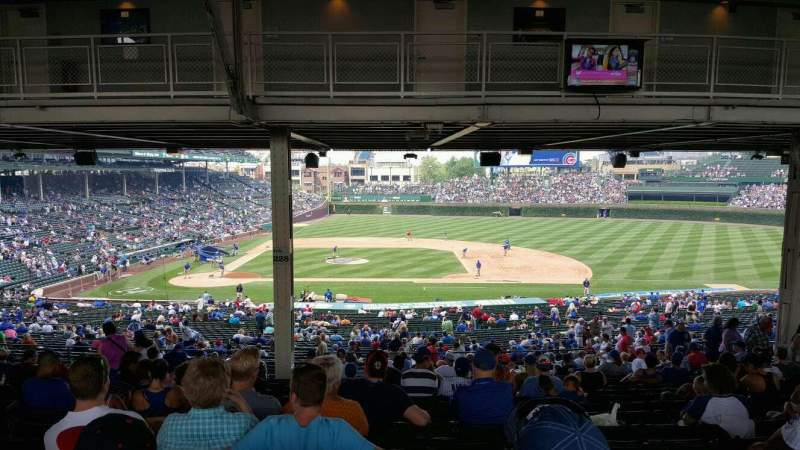 Seating view for Wrigley Field Section 228 Row 21 Seat 9