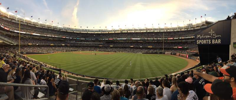 Seating view for Yankee Stadium Section 203 Row 8 Seat 28