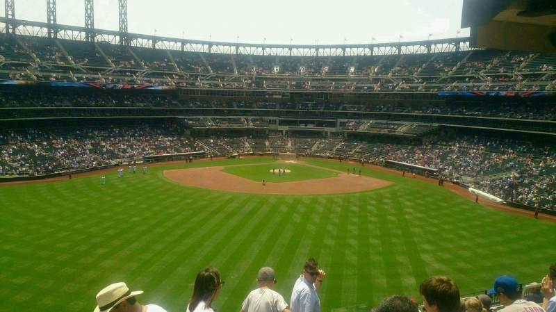 Seating view for Citi Field Section 339 Row 13 Seat 14