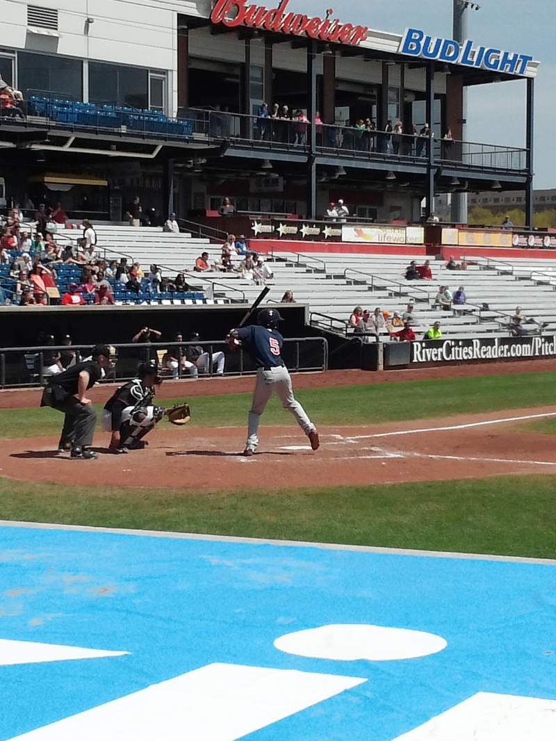 Seating view for Modern Woodmen Park Section 2 Row E Seat 11