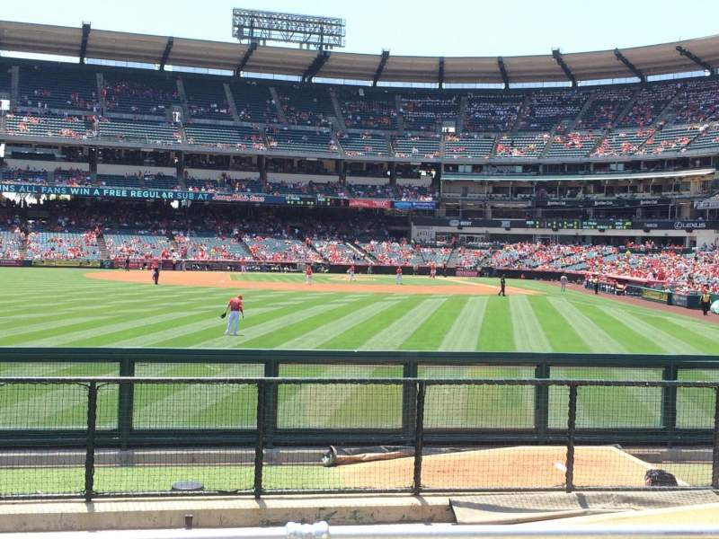 Seating view for Angel Stadium Section P259 Row G Seat 6