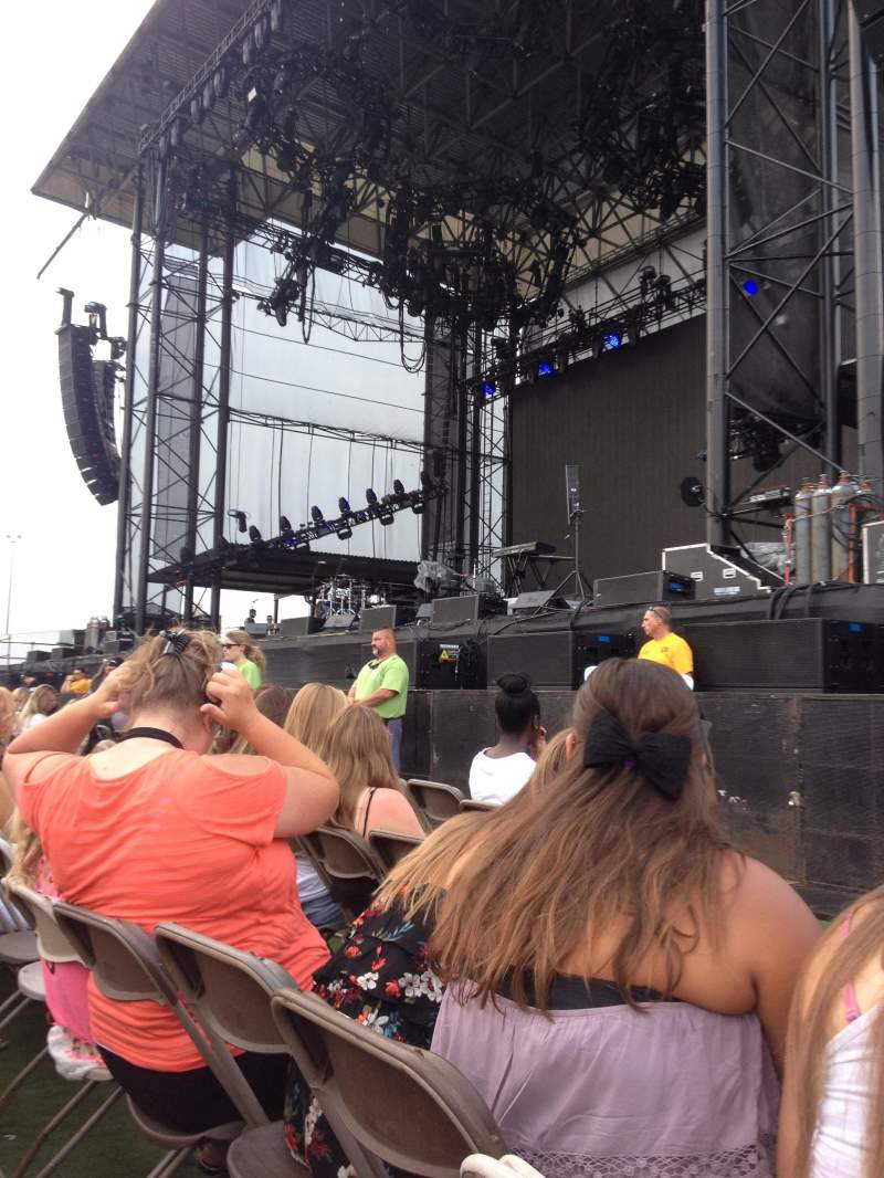 Seating view for Hershey Park Stadium Section A Row 4 Seat 9