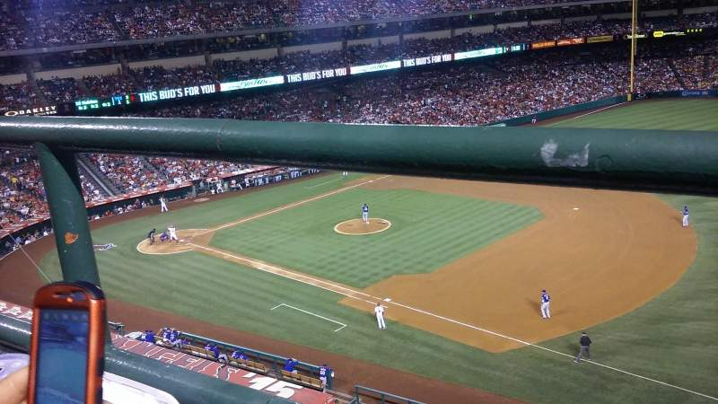 Seating view for Angel Stadium Section V427 Row A Seat 25