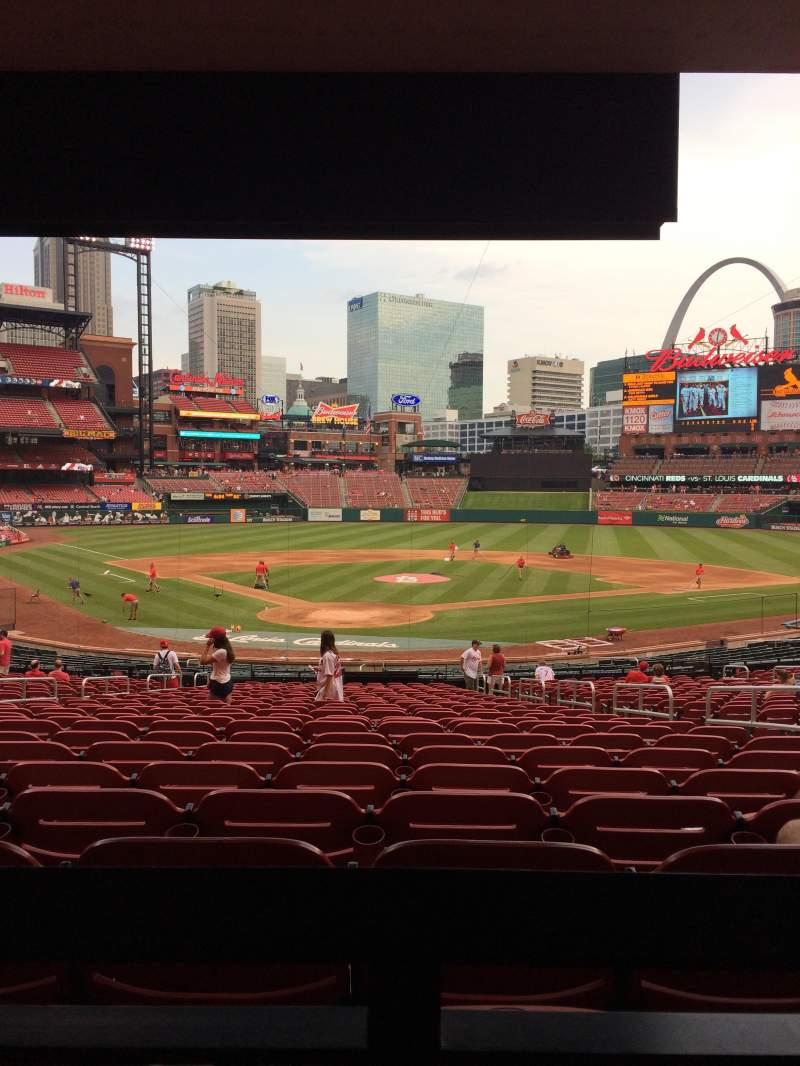 Busch Stadium Section 149 Row 25 Seat 9 St Louis