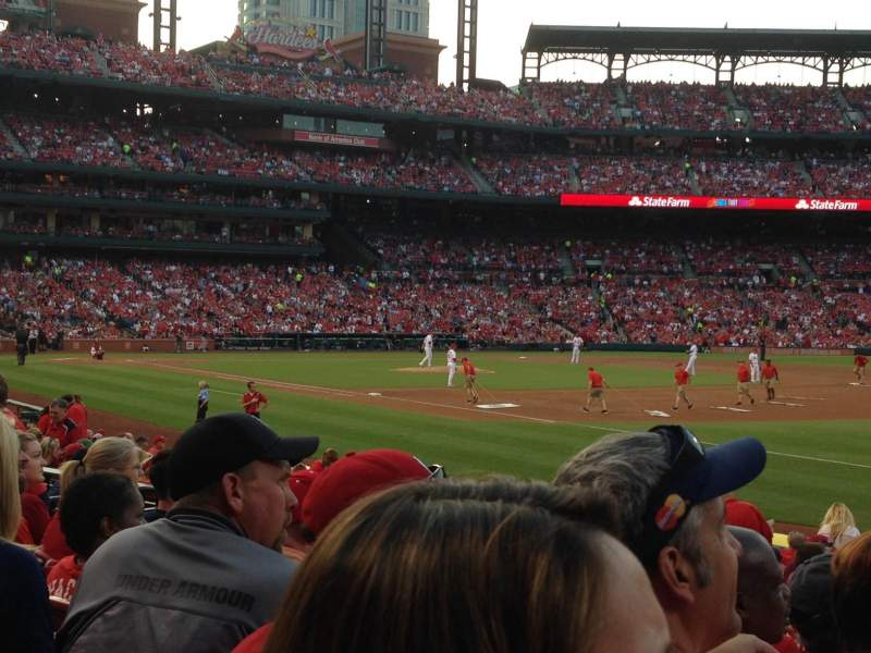 Seating view for Busch Stadium Section 137 Row 8 Seat 11,12