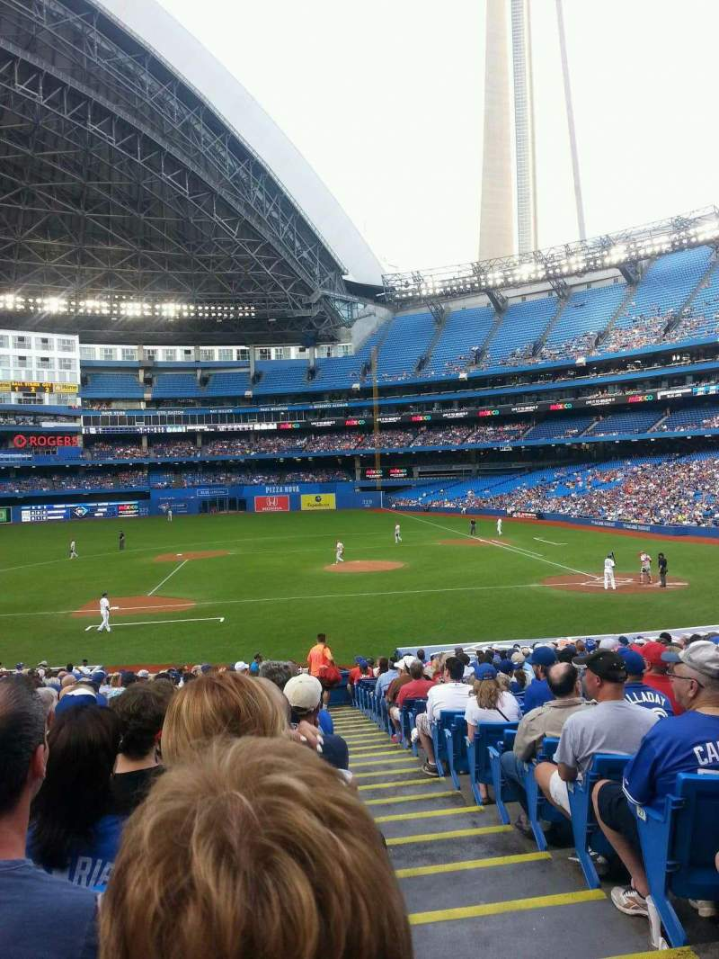 Seating view for Rogers Centre Section 126L Row 31 Seat 101