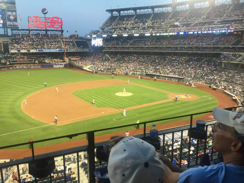 Seating view for Citi Field Section 328 Row 2 Seat 23