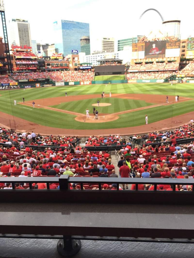 Seating view for Busch Stadium Section Luxury Row Suite Seat 15