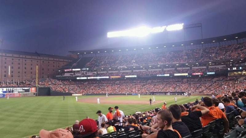 Seating view for Oriole Park at Camden Yards Section 68 Row 21 Seat 15