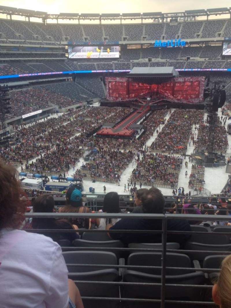 Seating view for MetLife Stadium Section 224B Row 2 Seat 9