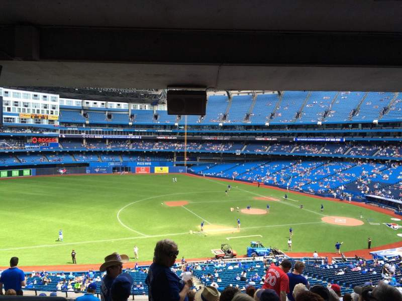Seating view for Rogers Centre Section 232 Row 13