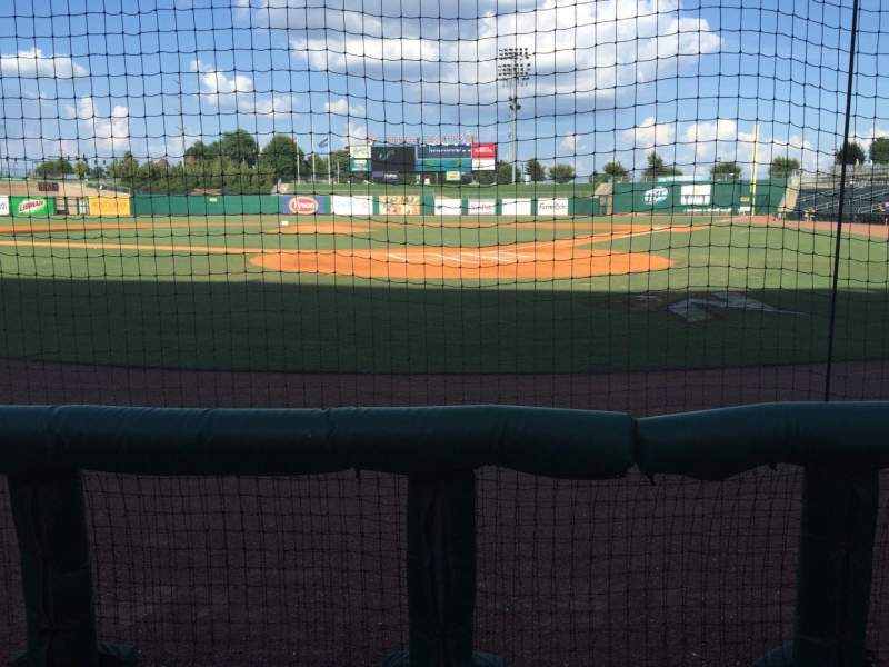 Seating view for Arvest Ballpark Section 112 Row B Seat 6