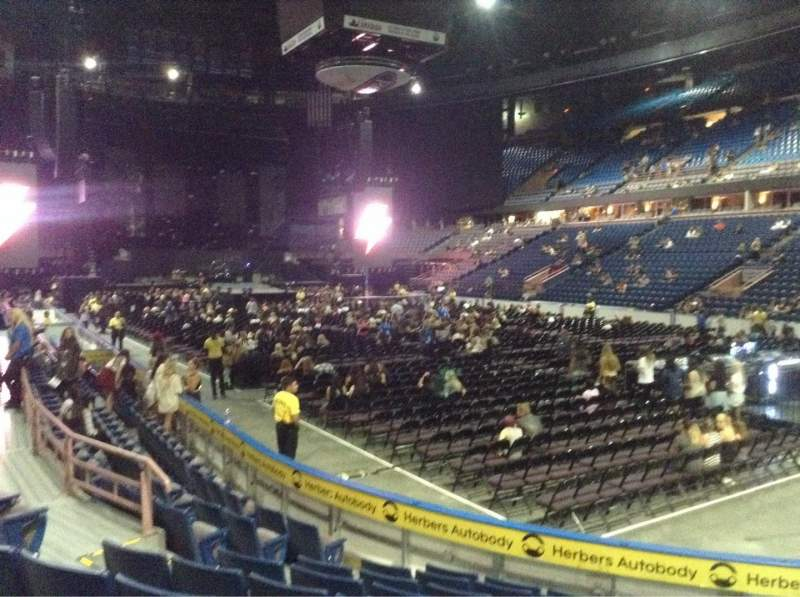Seating view for Northlands Coliseum Section 114 Row 9 Seat 5