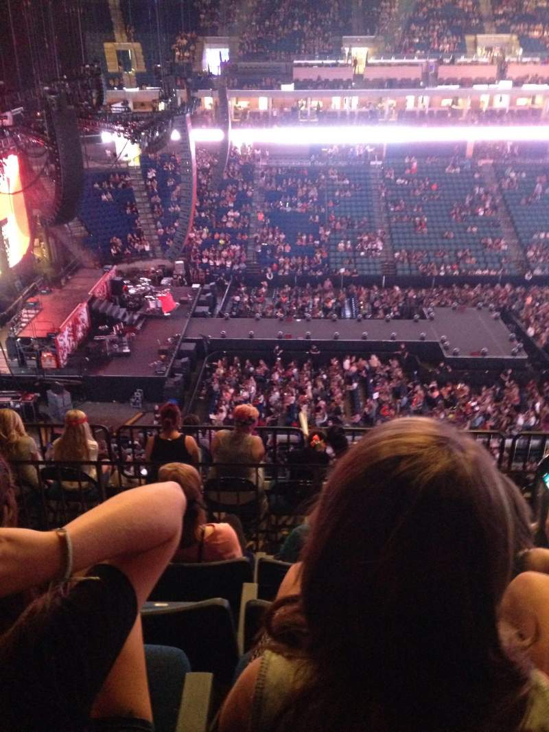 Seating view for BOK Center Section 326 Row J Seat 11