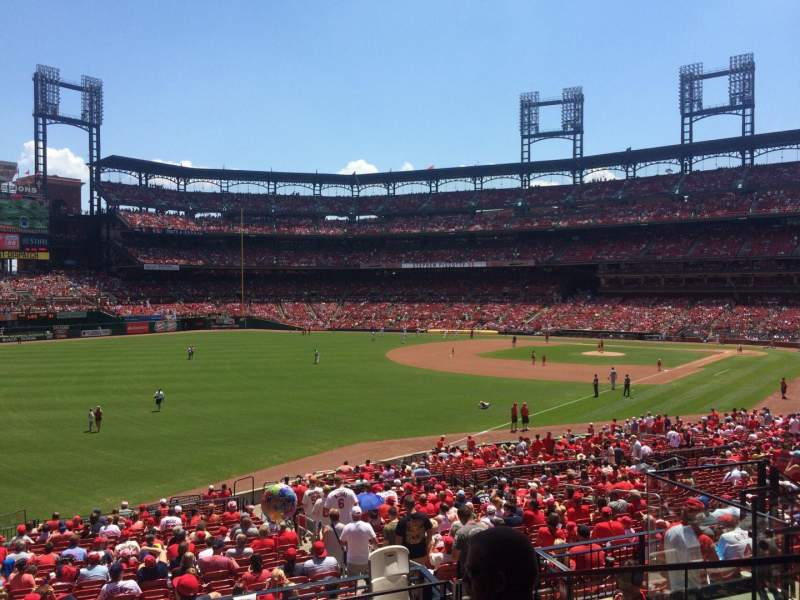 Seating view for Busch Stadium Section 167 Row 23 Seat 8