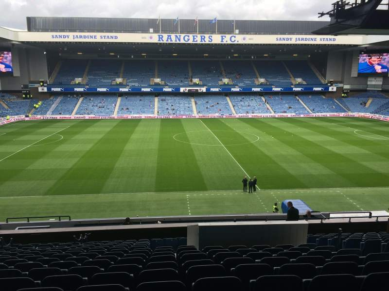 Seating view for Ibrox Park Section MLF Row S Seat 29