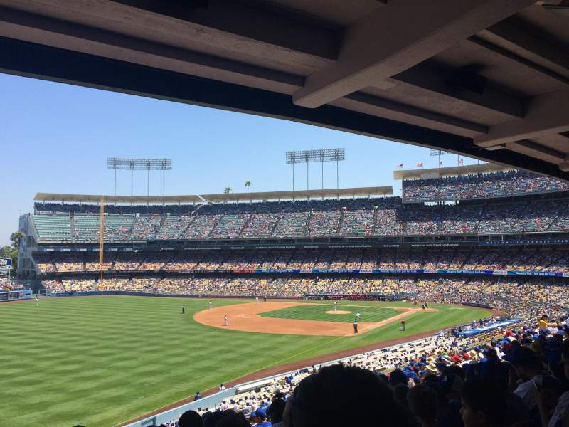 Seating view for Dodger Stadium Section 159LG Row R Seat 17