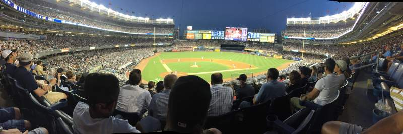 Seating view for Yankee Stadium Section 218b Row 6 Seat 6