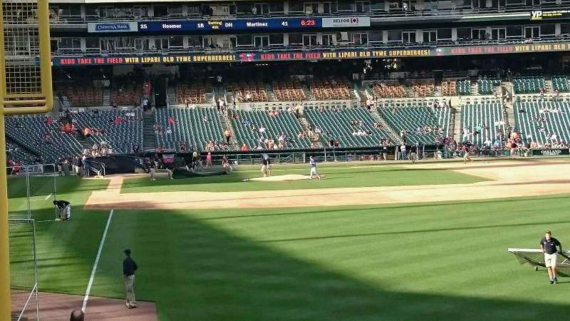 Seating view for Comerica Park Section 110 Row 26 Seat 5