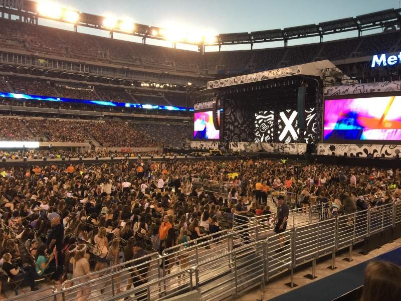 Seating view for MetLife Stadium Section 115C Row 2 Seat 11