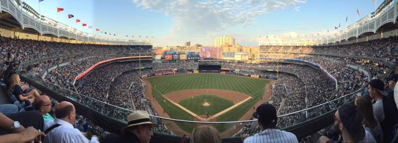 Seating view for Yankee Stadium Section 420B Row 2 Seat 15