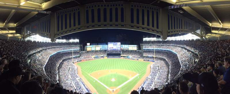 Seating view for Yankee Stadium Section 420B Row 13 Seat 16