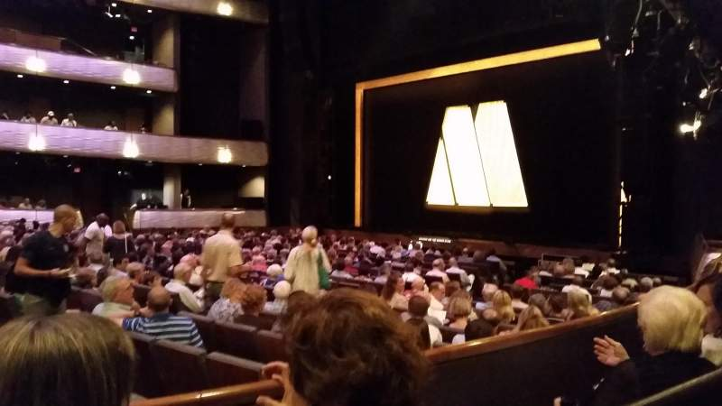 Seating view for Winspear Opera House Section Terrace R Row Zz Seat 3